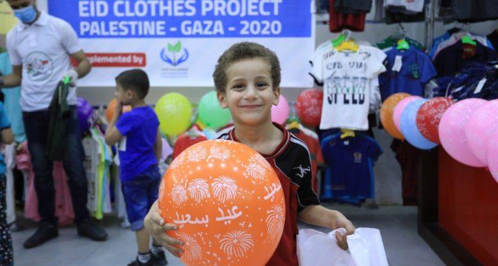 Paket Lebaran Untuk 1000 Anak Gaza