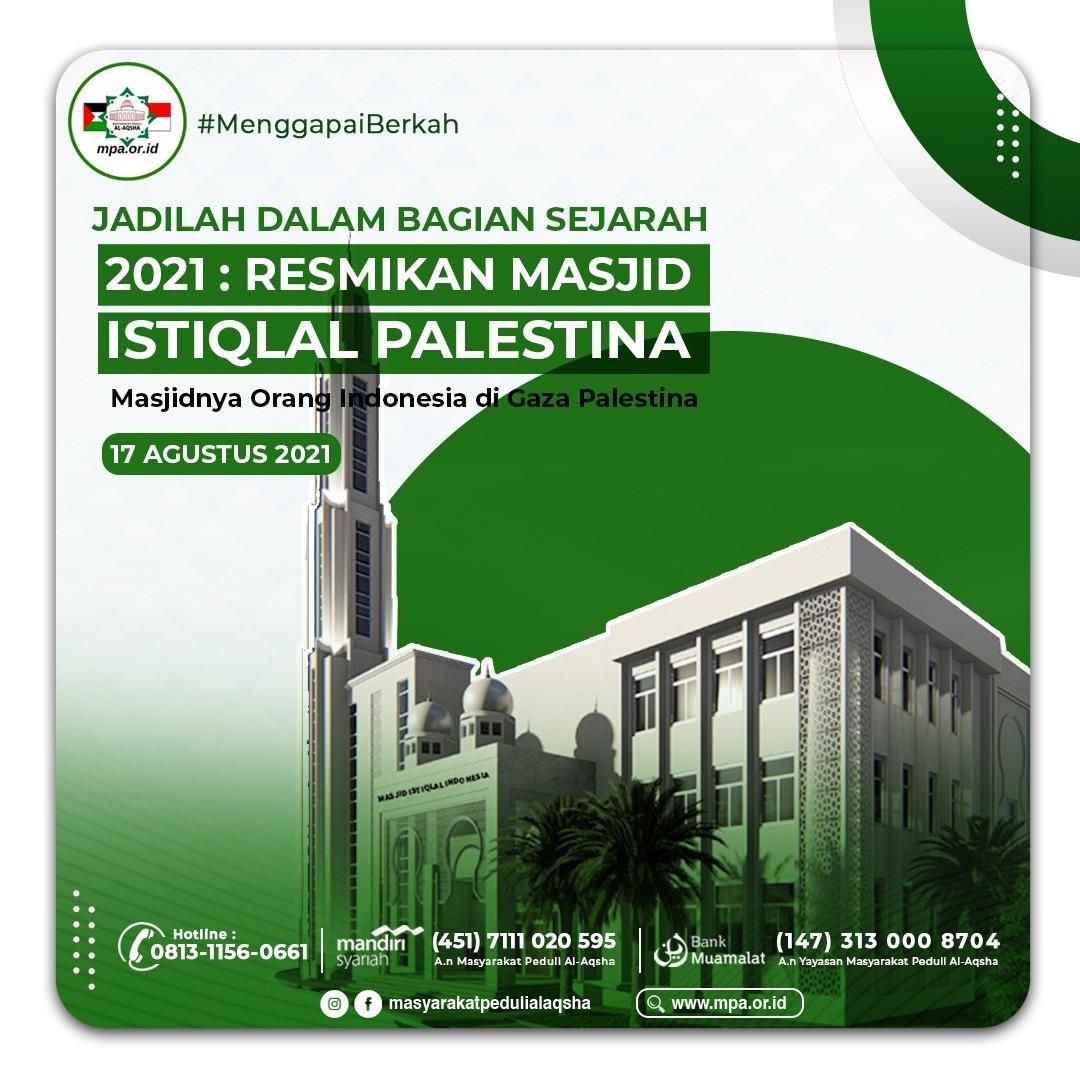 Wakaf Pembangunan Masjid Istiqlal Indonesia